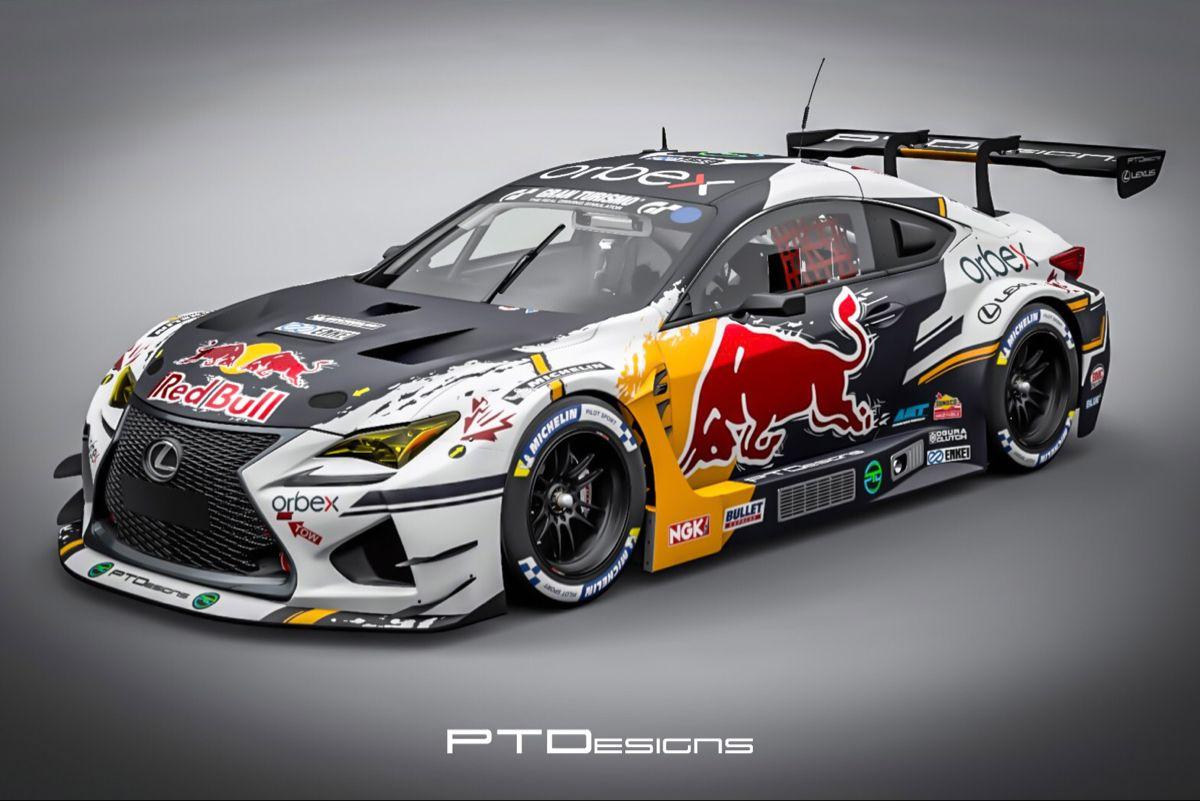 Pin Em Car Design Livery Lexus rc f gt3 racing 4k wallpaper