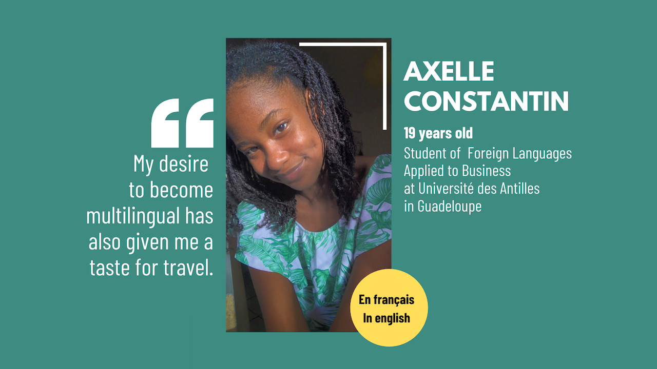 I've been wanting to offer content in French and English on my blog for a long time, because the Greater Caribbean has many English speakers that I've always naturally wanted […] L'article #SoCaribbean: Axelle Constantin, 19, a student with great potential est apparu en premier sur Le blog de Mylène Colmar.