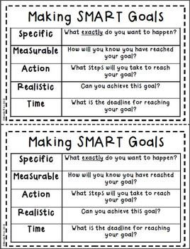 new years smart goal setting flip book teacherspayteacherscom