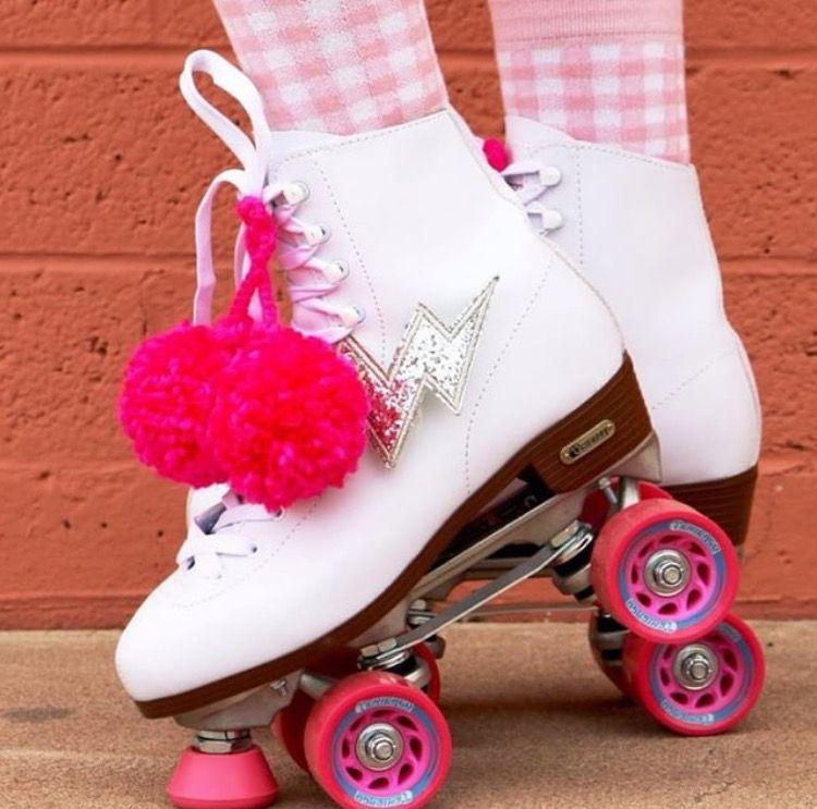 Roller Skate Pom Poms Skate Pom Pom Flowers Rollerpoms
