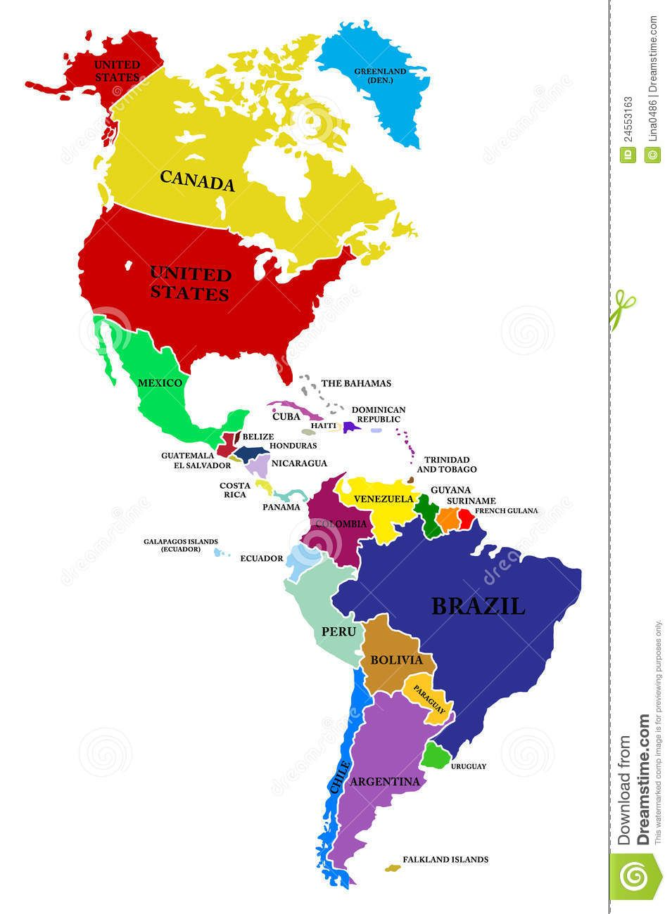 South America Map Maps  Continent Maps Pinterest South - Map of canada usa and south america