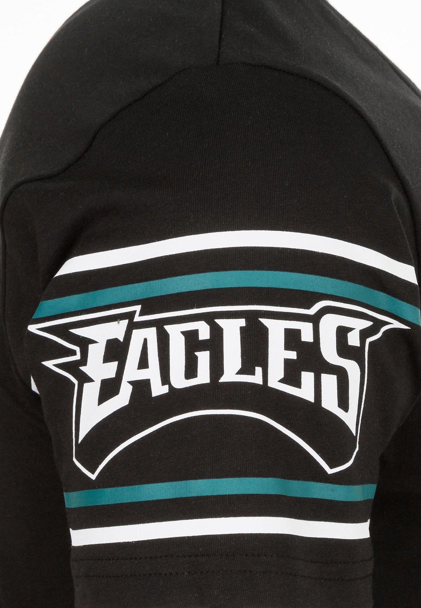 New Era Team Logo T-Shirt Herren PHILADELPHIA EAGLES Schwarz