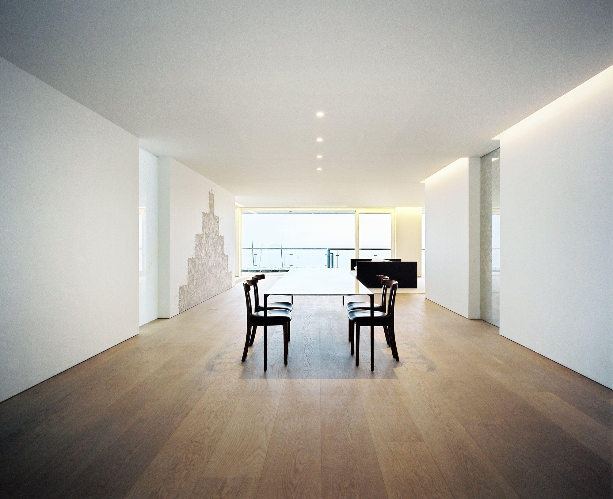 lighting || John Pawson - North Sea Apartment