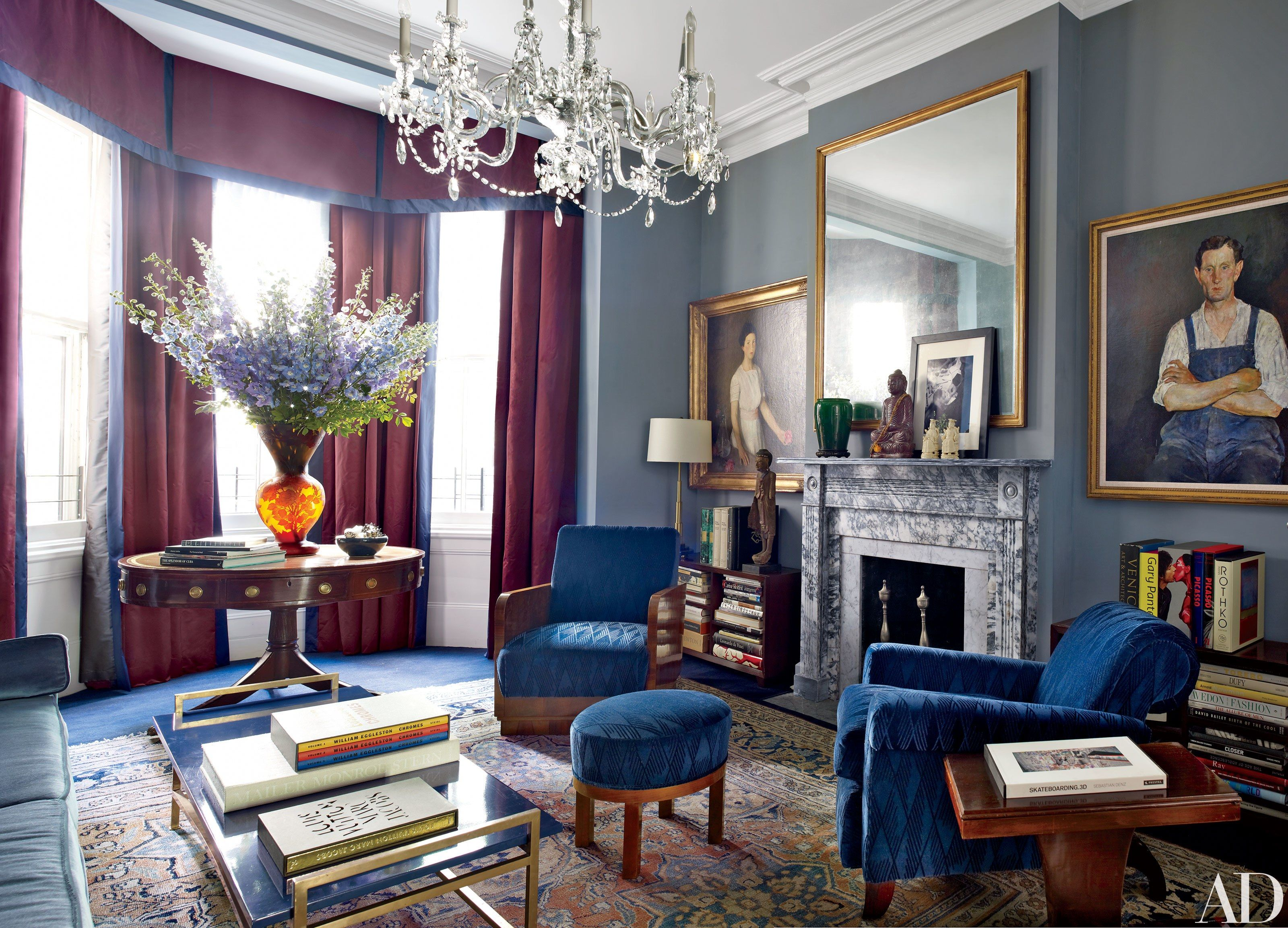 Studio reed jonathan reed s spare crafted interior design - Look Inside Robert Duffy S Historic Manhattan Townhouse