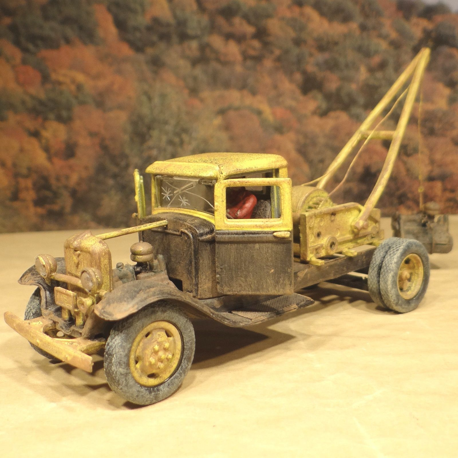 1934 Ford Junk Yard Tow Truck - O Scale On30 - 1/43 Diecast ...