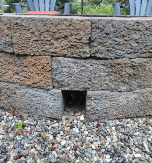 how to build your very own stone fire pit for the home pinterest diy fire pit fire pit. Black Bedroom Furniture Sets. Home Design Ideas