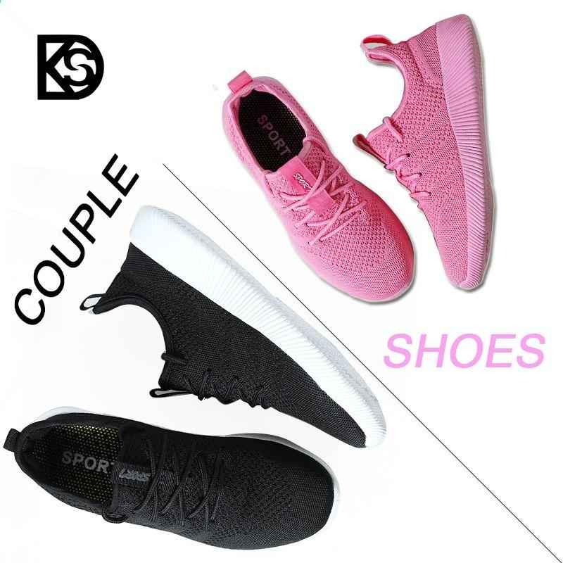 Ksd Sport Buty Do Biegania Buty Do Pary Mezczyzni Buty Do Joggingu Damskie Trampki Oddychajace Milosnicy Miekkie Buty Tre Couple Shoes Adidas Sneakers Sneakers