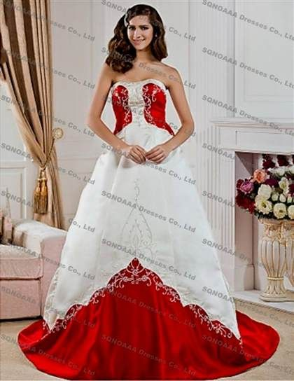 Cool red and black wedding dresses plus size 2017 Check more at http ...