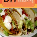 DIY Taco Seasoning #diytacoseasoning