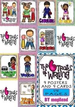 The Six treats of Writing (9 Posters and 9 Cards) 50% OFF