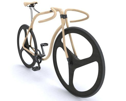 Wooden(!) bike by Thonet/designer Andy Martin