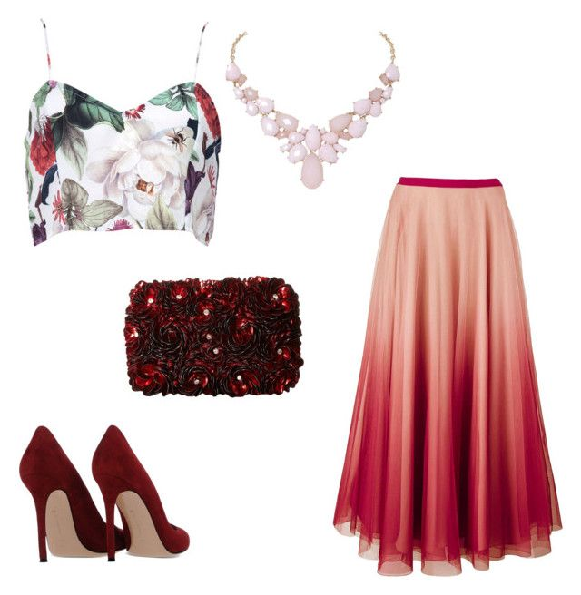 """""""Untitled #3"""" by courtneychurchill on Polyvore featuring RED Valentino, Gianvito Rossi, Humble Chic and Alice + Olivia"""
