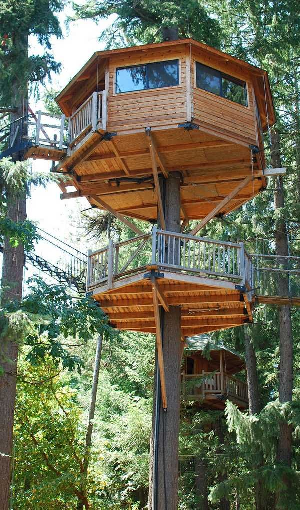 Treehouse Hotel In Oregon Part - 25: 25 Kid Friendly Hotels With Insanely Wacky Amenities - Momtastic.com