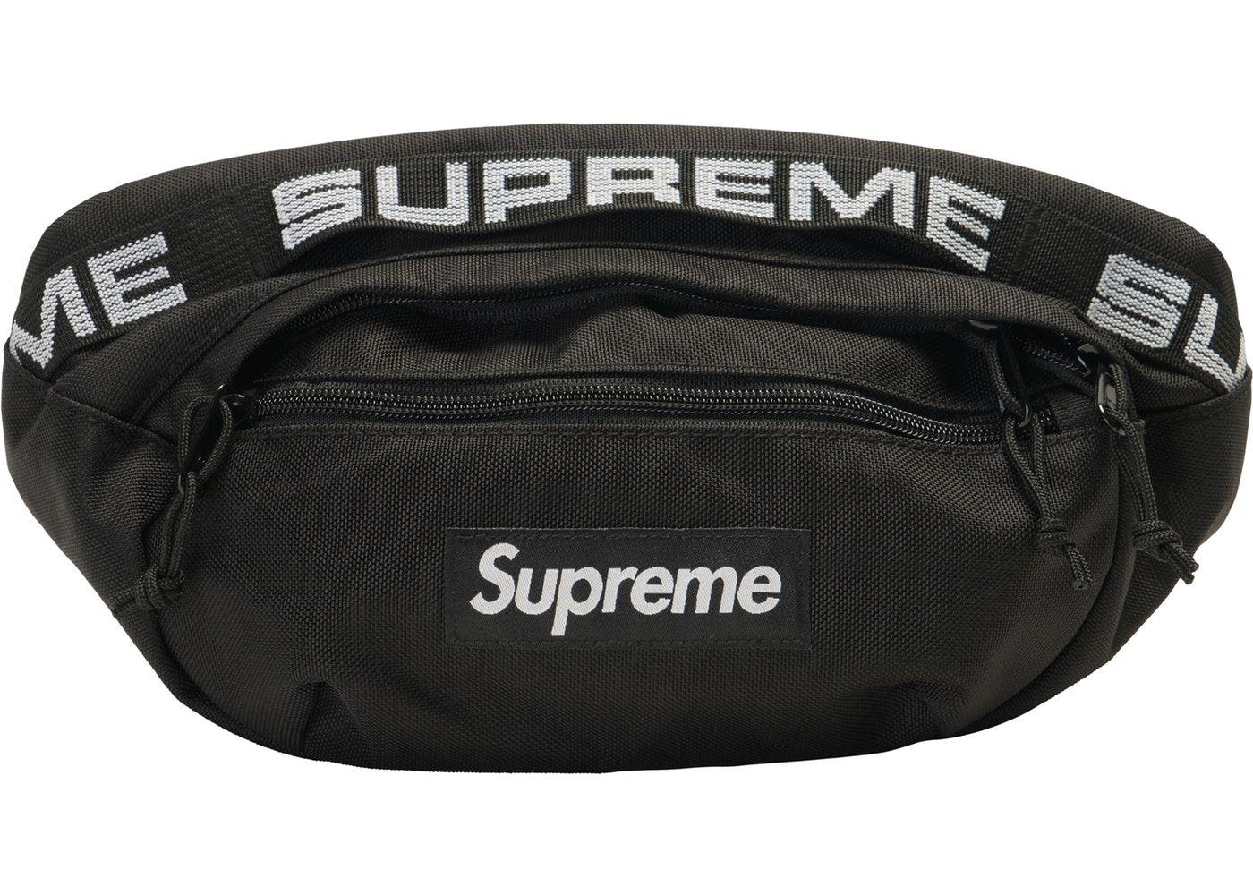 7a29bad37e Supreme Waist Bag (SS18) Black in 2019 | g | Supreme bag, Bags ...