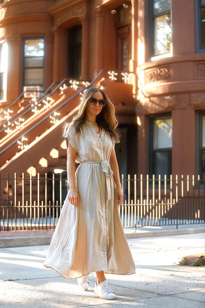Breezy Dresses Sneakers Brooklyn Blonde Dress With Sneakers Breezy Dress Brooklyn Blonde [ 1200 x 800 Pixel ]