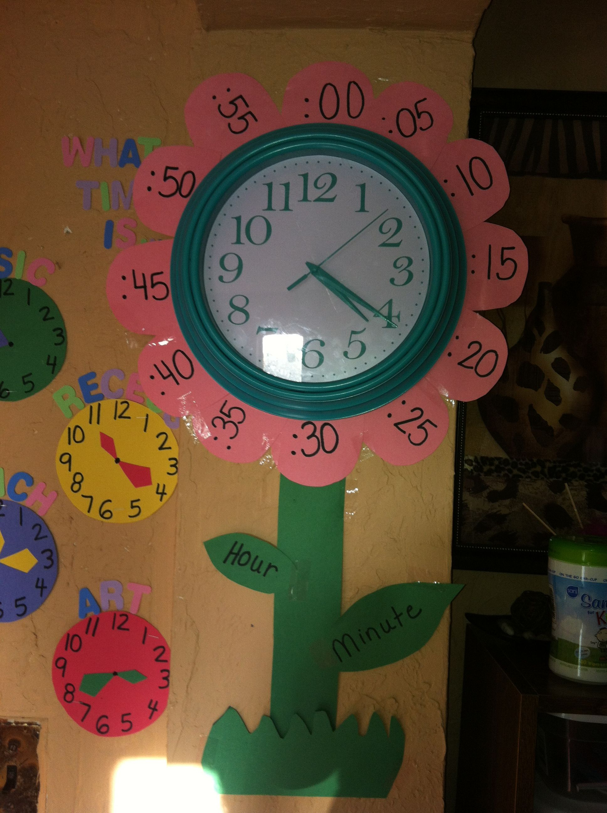 What Time Is Daycare Wall Decor
