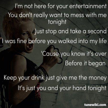 P!nk- U + UR Hand #Pin...P!nk Lyric Quotes