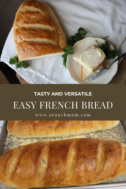 French Bread | Recipe in 2020 | French bread recipe ...