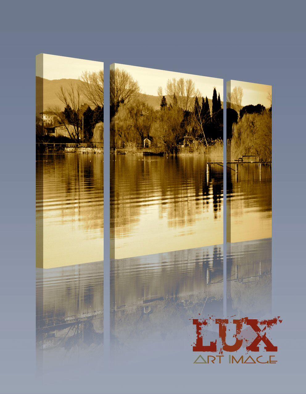 Lago trasimeno umbria luxartimage arreda i tuoi spazi interi quadri fotografici per casa o - Quadri per casa ...
