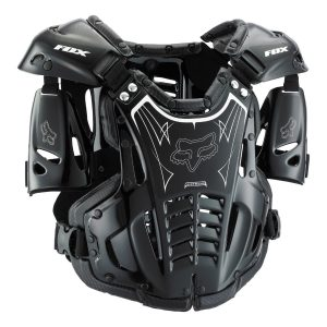 MD-LG Black//Red Alpinestars MX Motocross Bionic Chest Protector Roost Guard