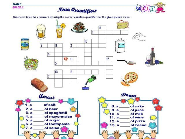common and proper noun crossword puzzle - Google Search | Writing ...