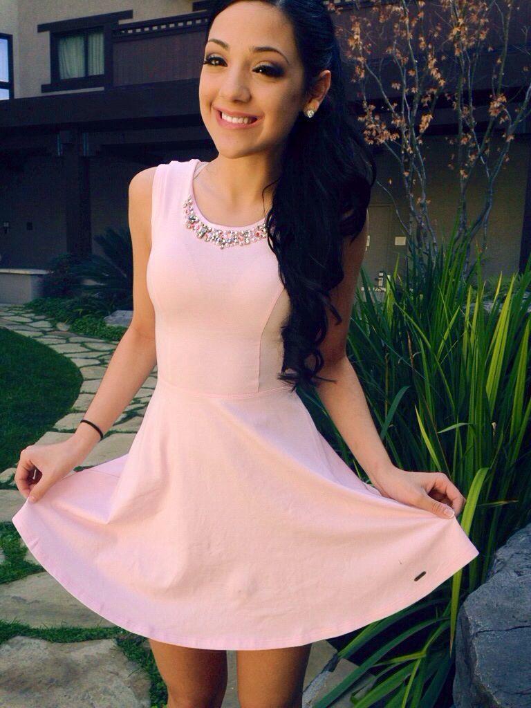 Abercrombie dress @Gabriella Denizot ♡ DeMartino fashion idol ♡