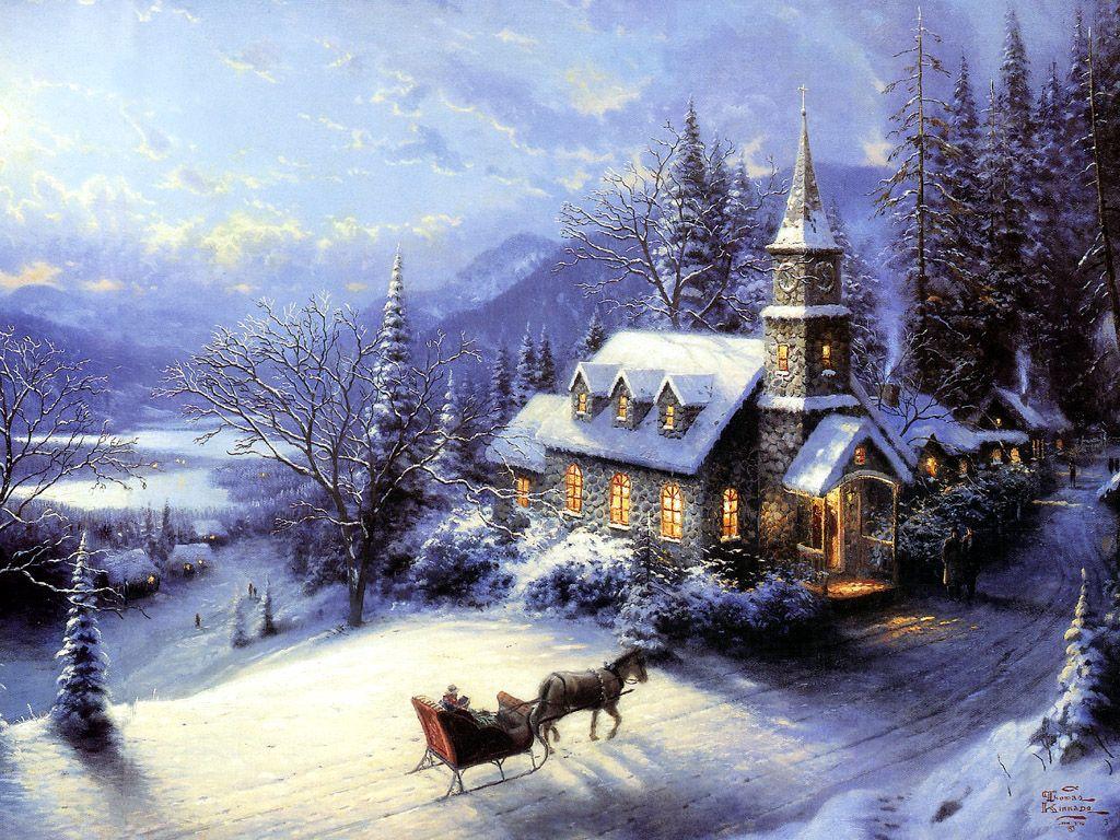 Christmas Desktop Wallpapers Weihnachtsszenen