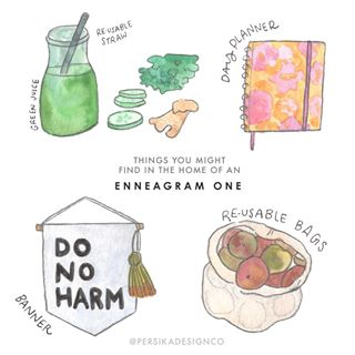 """EnneagramandCoffee on Instagram: """"@persikadesignco submitted this series called """"Things you may have (or want) in your house based on your Enneagram type"""" and we LOVE them.…"""""""
