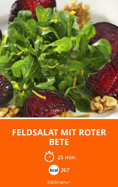 Feldsalat mit Roter Bete - smarter - Kalorien: 267 Kcal - Zeit: 25 Min. | eatsmarter.de