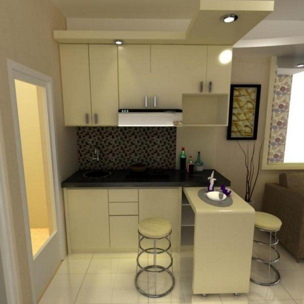 Model Kitchen Set Dan Mini Bar Kitchen Kitchen KitchenDesign ...
