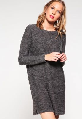 f9f5611c707 Robes pull Vila VIRIVA - Robe pull - dark grey melange gris foncé chiné   26