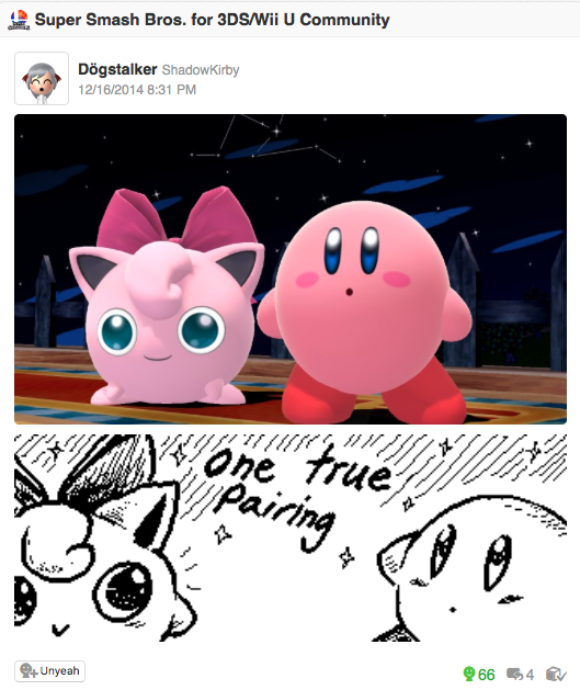 Super Smash Bros  for 3DS/WII U Community - Miiverse