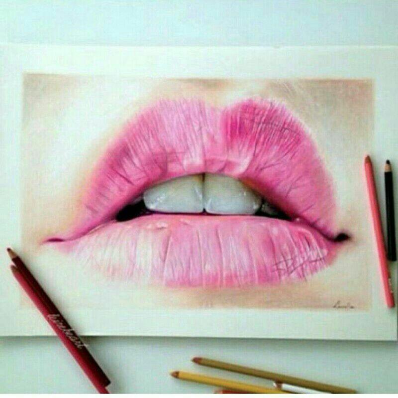 Pin by purdy demuynck on Illustrations   Lip study, Art
