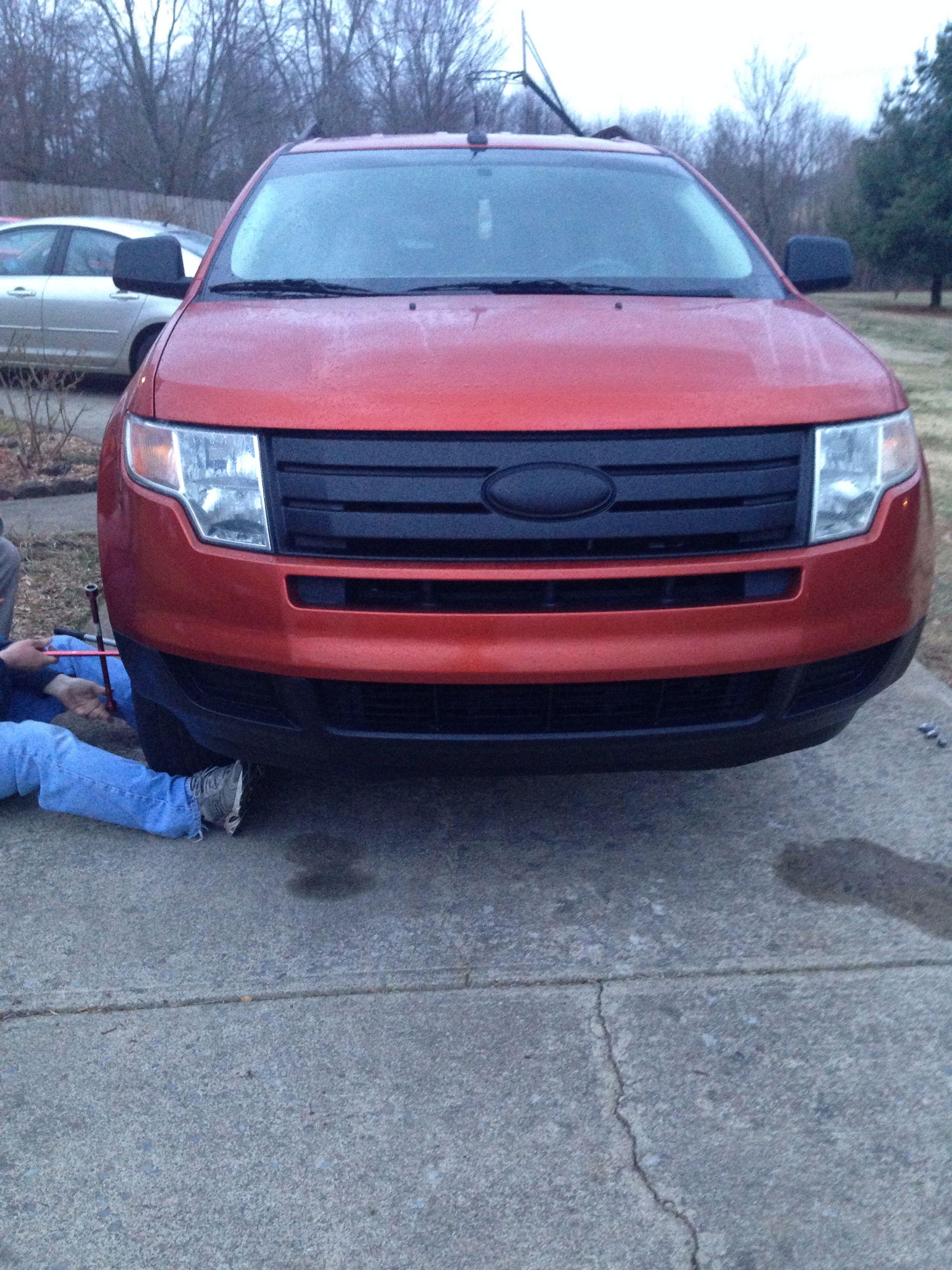 Ford Edge Plasti Dip