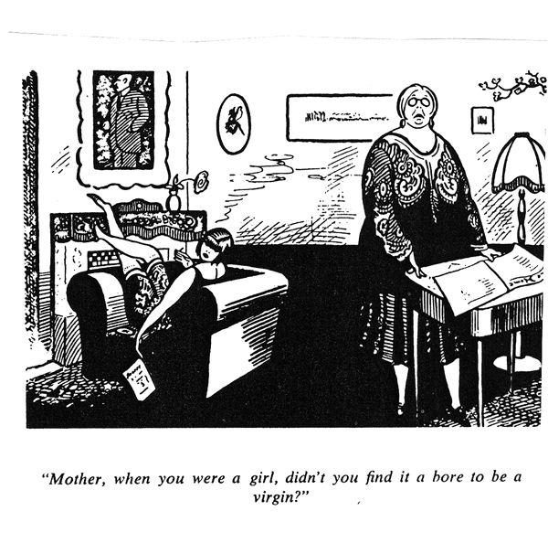 Women Political Cartoon Women And Sexualities Women 1920s
