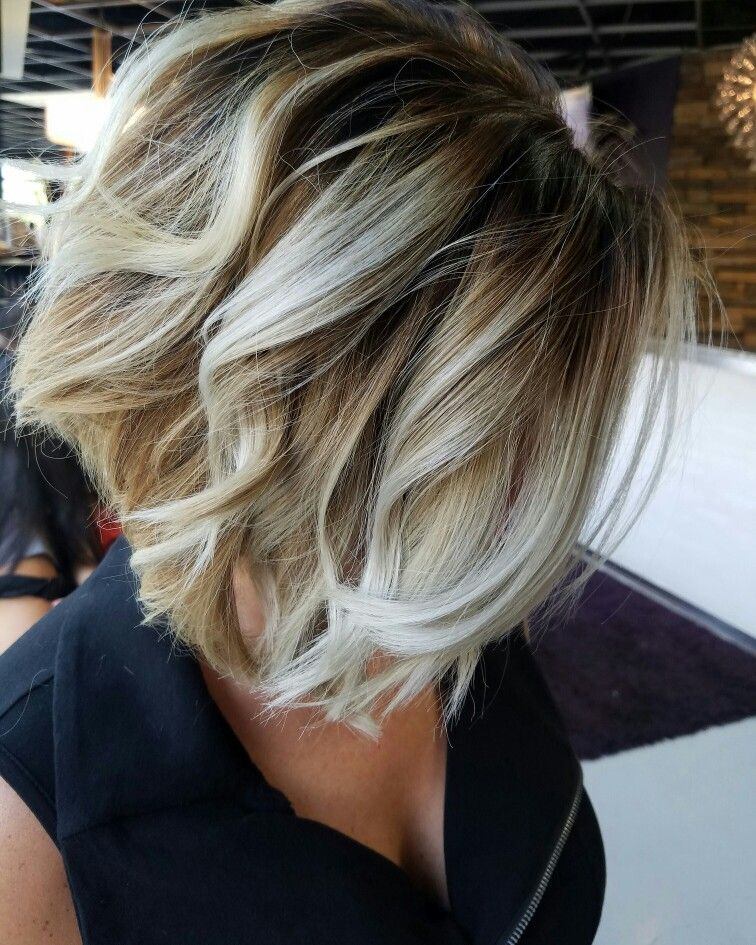 The 25 Best Blonde Bayalage Bob Ideas On Pinterest