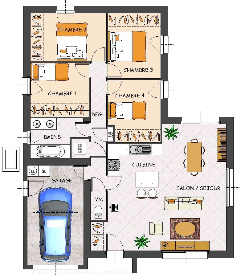 Construction maison neuve Satine Lamotte Maisons Individuelles
