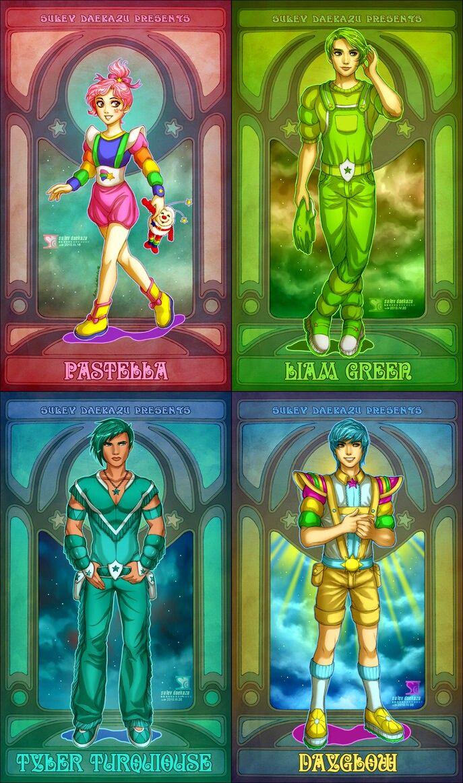 Rainbow Brite - Additional Characters.   Modern rainbow brite ...