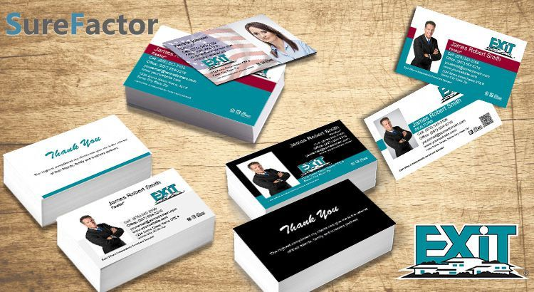 Exit Realty Real Estate Business Cards Business Card Stand Real Estate Business Cards Exit Realty