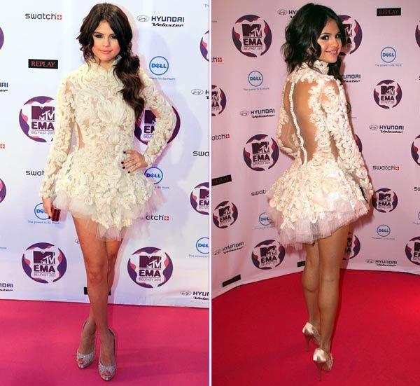 Selena Gomez in Marchesa   Celebrity Fashion   Pinterest