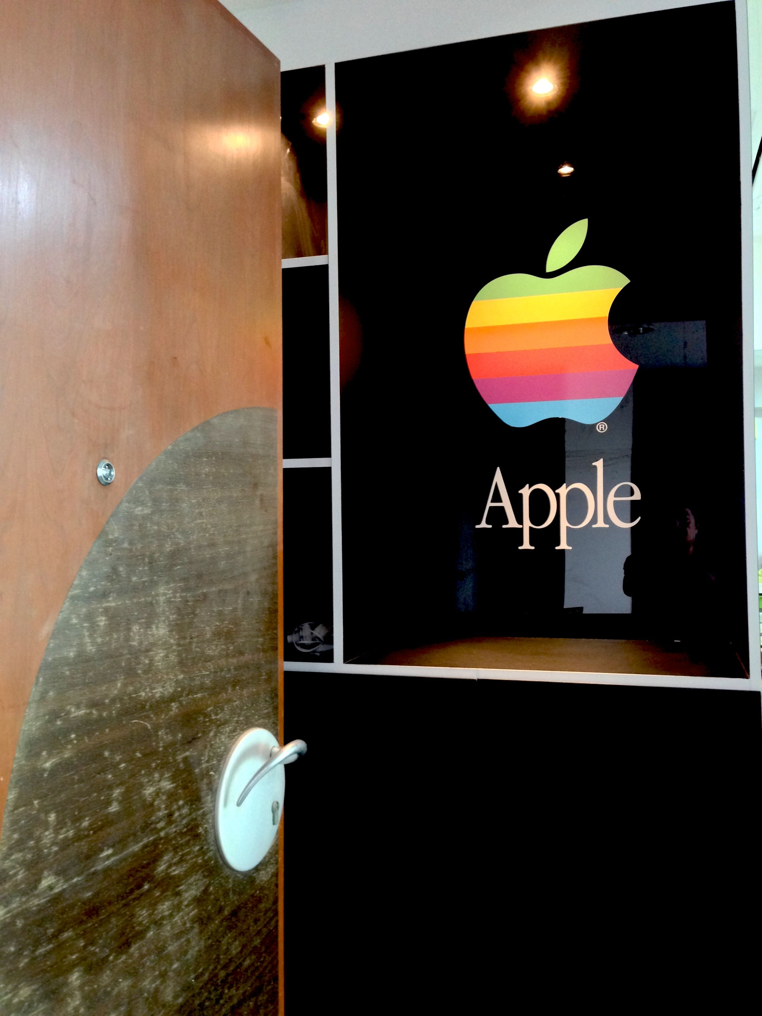 """Entrance to our house """"Apple Home"""""""