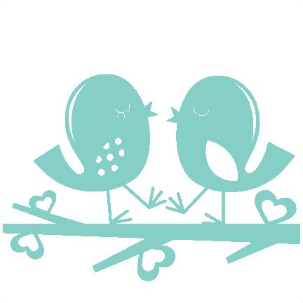 Download Love Birds   Freebie svg, Bird silhouette