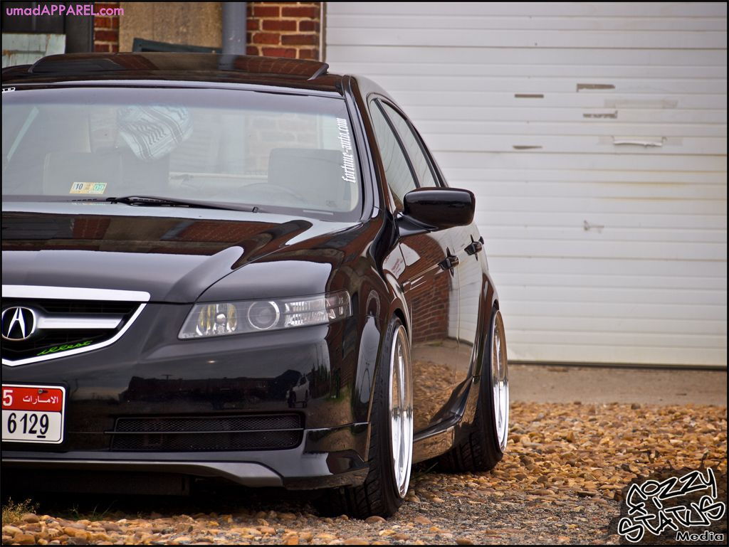 Acura TL With ASpec Kit And Drop On Tein Coilovers JDM - Acura tl tein coilovers