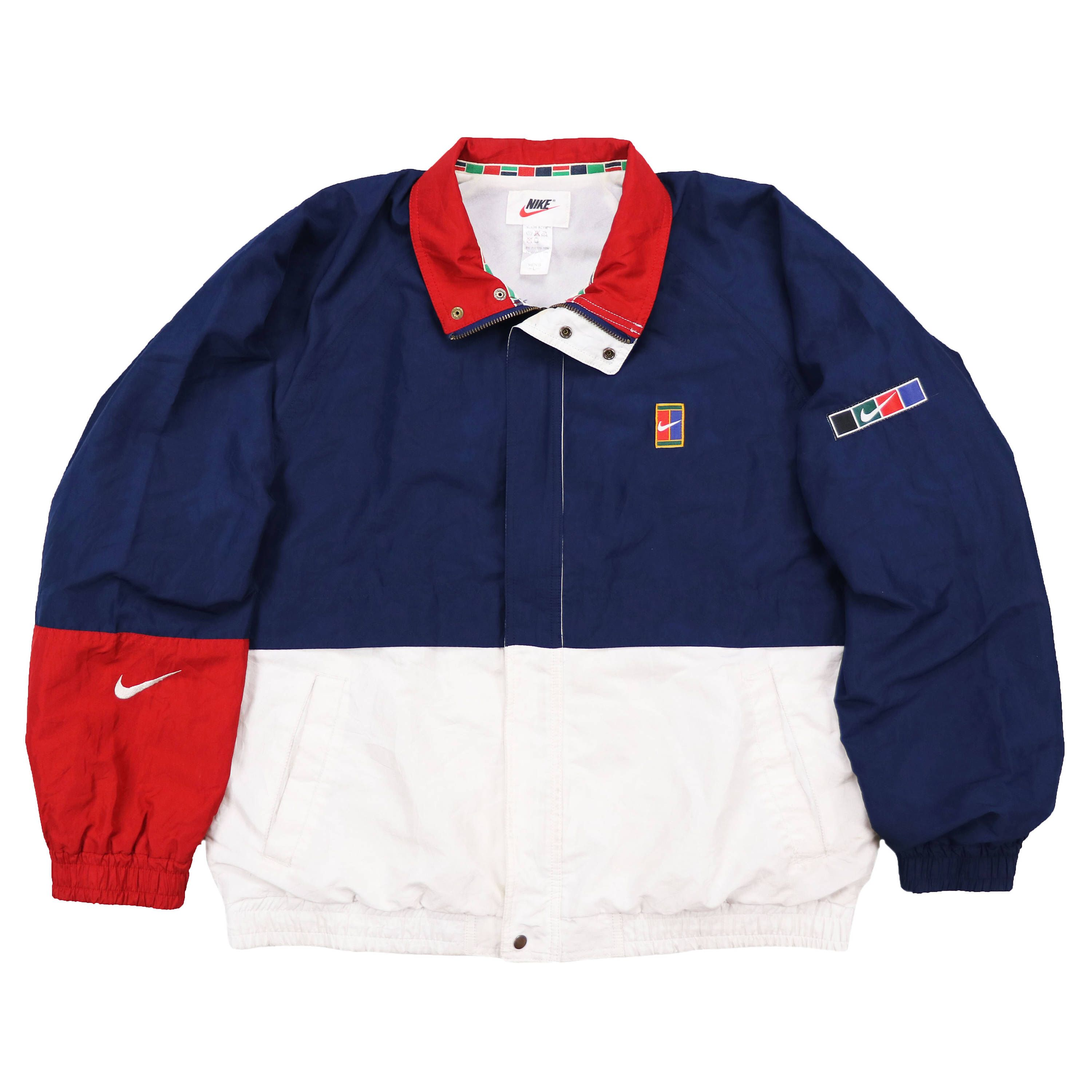 2dfd847d736fe Excited to share the latest addition to my  etsy shop  Vintage 90s nike  supreme court Windbreaker Jacket  clothing  jacket  vintage  nike  90s   supreme ...