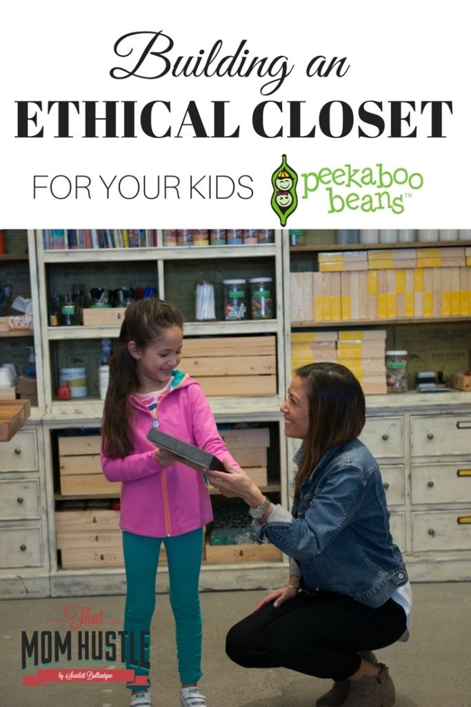 Peekaboo Beans Ethical Closet, Kids clothing, Direct Sales, Slow Fashion, Creating an Ethical Closet for Your Kids