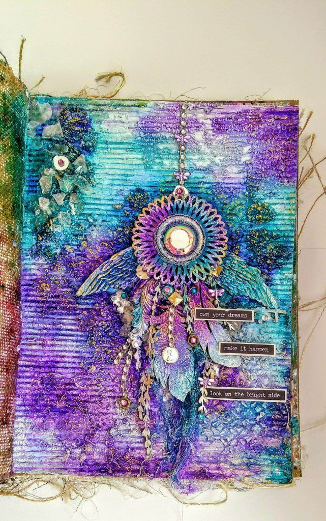 Own Your Dreams A Mixed Media Journal Mixed Media Art