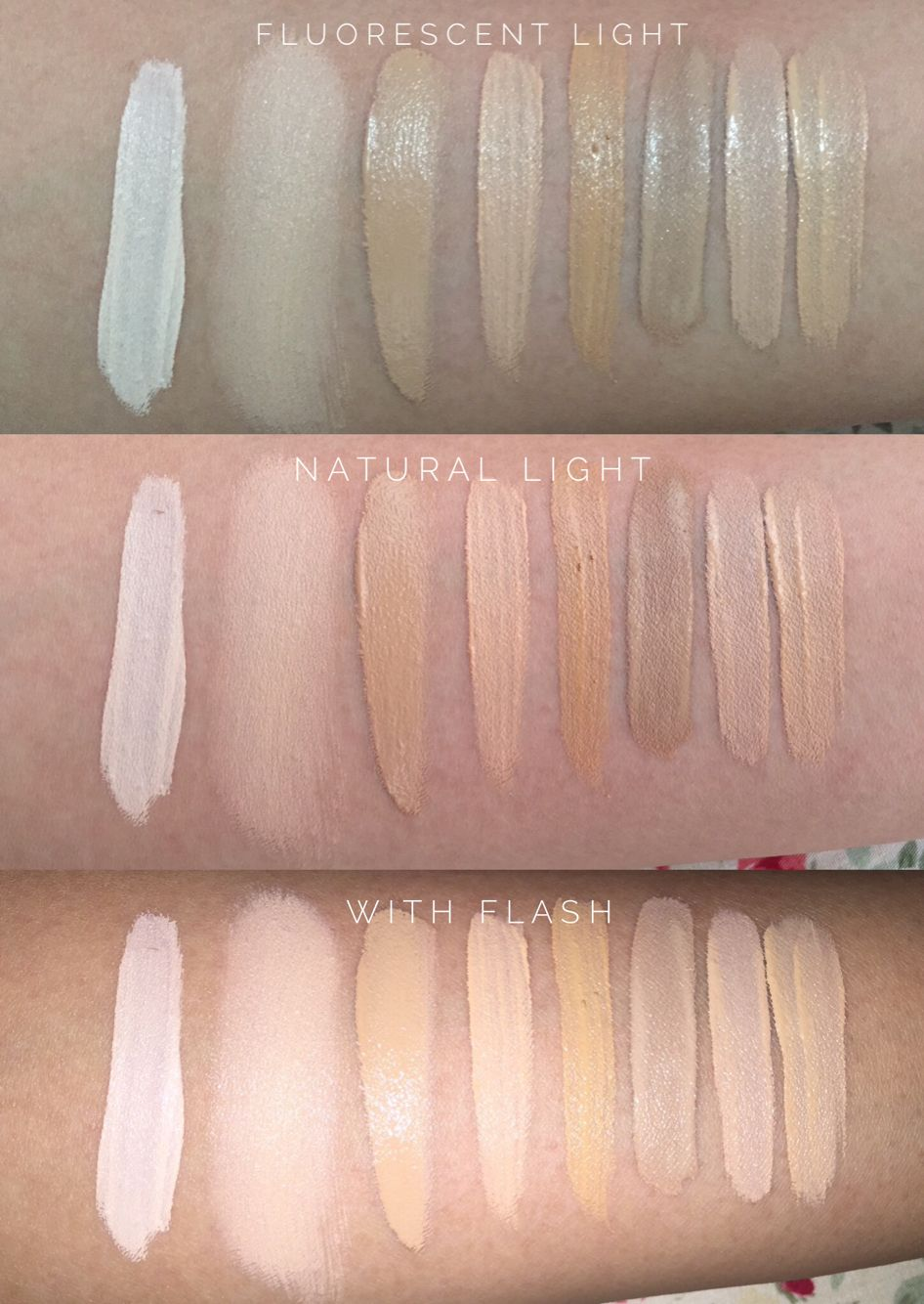 Concealer Swatch Nc30 Skin L R Urban Decay Naked Skin