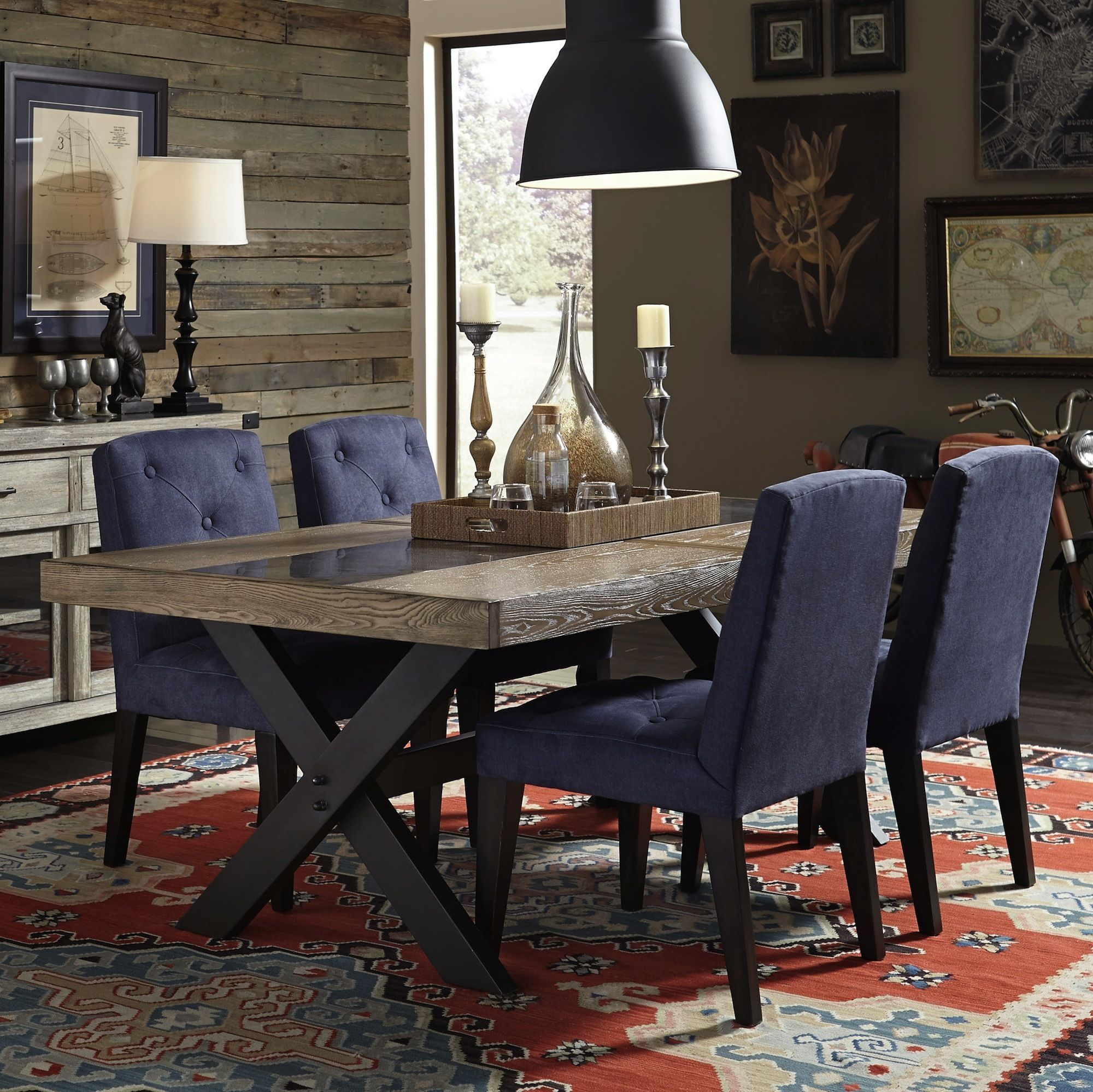 Picnic Table Dining Room: Bedford Avenue Picnic Table Dining Room Set