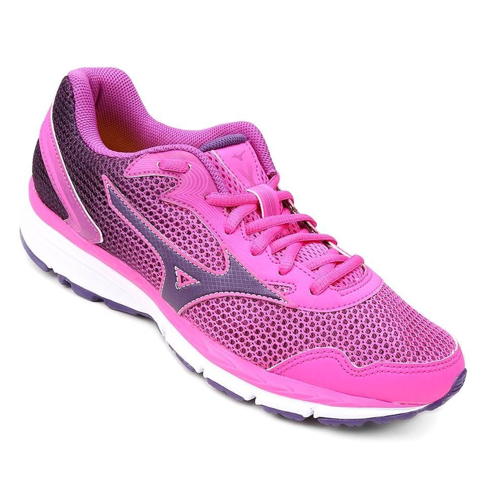 tenis mizuno feminino rosa pink