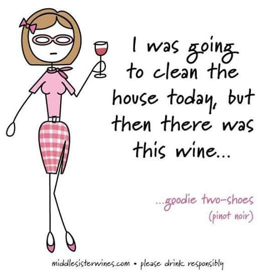 ... Then there was wine